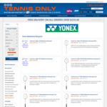 Yonex Badminton Racquets 40% off @ Tennis Only
