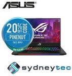 ASUS ROG Strix SCAR II GL704GW-EV045T 17.3in FHD 144hz i7-8750H RTX2070 Laptop $2,079.20 @ Sydneytec eBay