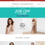20% off Already Reduced Prices @ French Connection