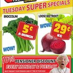 [QLD] Broccolini $0.05 Per Bunch. Beetroot $0.29/kg @ Northside Fruit Barn (Rothwell)