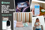 Win an Owlet Smart Sock & Cam Worth $710 from Mum Central