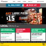 Free Lava Cake with Traditional/Premium Pizza Purchase @ Domino's