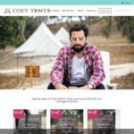 [VIC] 1 Night Stay $239, + Breakfast & Moet $344, + Spa $436 @ Cosy Tents (Hepburn Springs)