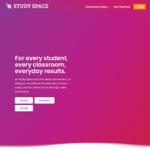 Study Space Online Education App (Years K - 6) - $9.95/Month (from $39.99/Month)