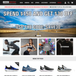 $30 Off (Min Spend $150) @ Stringers Sports Store