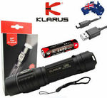 KLARUS G10 Rechargeable 1800 Lumen LED Torch, with 3600mAh Battery - $64.84 Shipped @ Parabolic Industries - eBay