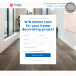 Win $5,000 Cash from Choices Flooring