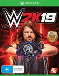[XB1] WWE 2K19 - $9 + Delivery ($0 with Prime) @ Amazon AU