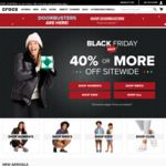 Black Friday 40% off Everything (except Classic Clog) + Free Shipping at Crocs Australia