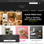 Take a Further 30% Site-Wide + Extra 10% Subscriber Offer @ Royal Doulton Outlet