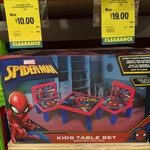 [WA] Spider-Man 3 Piece Kids Table Set for $10 and Frozen Set for $19 @ Bunnings Cannington
