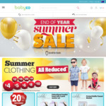 End of Year Summer Sale @ Babyco