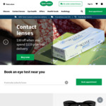 $30 off $119 Spend on Contact Lenses + Free Standard Tracked Delivery @ Specsavers