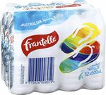 Frantelle Spring Water, 12x 600ml $4.94 + Delivery ($0 with Prime/ $39 Spend) @ Amazon AU