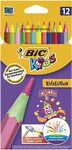 BIC Kids Circus Colouring Pencils (Pack of 12) - $2.52 (S&S) + Delivery ($0 with Prime / $39 Spend) @ Amazon Australia