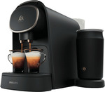 LOR Philips Barista Capsule Machine with Milk Frother - $139 + Delivery (Free C&C/In-Store) @ The Good Guys