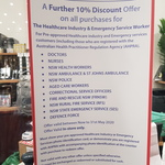 [NSW] Extra 10% off for Healthcare Industry and Emergency Service Workers @ Victoria's Basement Auburn [In-Store Only]