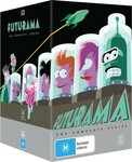 Futurama The Complete Series Box Set 27 Discs $35 (Limited in-Store/Delivery $3.90 Standard) @ BigW