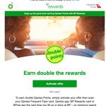 Earn Double Qantas Points at BP Fuels via BP Rewards (Activation Required)