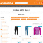 Chute Thermals $10 (Club Members) + $11.99 Delivery ($0 over $99+ Spend) @ Anaconda