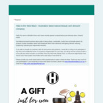 Win 1 Luxury Skincare Gift Pack Worth $100 from Halo Is The New Black Natural Skincare