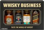 Whiskey Business - 4x 50ml Minis $15 @ BWS