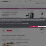 [Box Damage] Kenwood Multipro Classic Food Processor FDM785BA $199.99 (down from $419) Delivered @ Kenwood