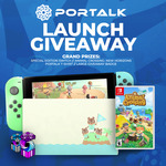 Win a Animal Crossing Nintendo Switch Bundle from VAST and PORTALK