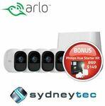 [eBay Plus] Arlo Pro 2 Wire-Free HD (4 Camera) Security System + Philips Hue Starter Kit $805.50 Delivered @ Sydneytec eBay
