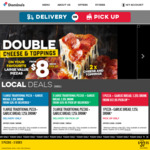 3 Traditional Pizzas $24 (Delivered) @ Domino's (Selected Stores)