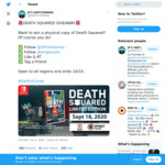Win Death Squared (Switch) from JP'S SWITCHMANIA