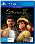 [PS4] Shenmue III Day One Edition - $9 + Delivery ($0 Pickup) @ JB Hi-Fi