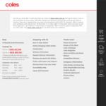 Coles Online - $10 off Minimum Spend $150