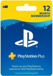 Playstation Plus 12 Month Membership Card $59.95 (Was $79.95) Delivered @ Amazon AU