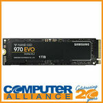 1TB Samsung 970 EVO M.2 $159.20 Delivered @ Computer Alliance eBay
