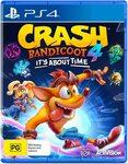 [PS4] Crash Bandicoot 4: It's About Time $50 @ Amazon AU