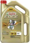 Castrol Edge Engine Oil 5L 5W-30 A3/B4 $35 (50% off) @ Repco