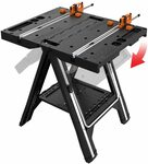 WORX WX051 Pegasus Multi-Function Work Table and Sawhorse with Quick Clamps and Pegs $106.50 Free Shipping @ Amazon AU