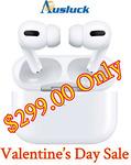 Apple Airpods Pro $299 Delivered @ Ausluck via eBay