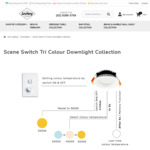 Tri-Color Downlight Kit Collection Scene Switch from $13.69 (after 15% off Coupon) + Free Shipping @ Lectory