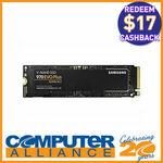 [eBay Plus] 1TB Samsung 970 EVO Plus M.2 PCIe SSD $179.10 ($162.10 after Samsung Cashback) Delivered @ Computer Alliance eBay