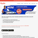 $20 off Your Ride for Existing and New Users @ RYDO