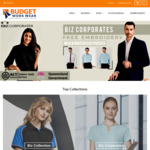 Uniform Clearance: Biz Collection Polo fr $7.50, Biz Corporates Shirt fr $12 + Delivery fr $9.90 @ Budget Workwear Outlet Store