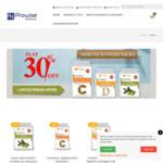 30% off Immune Support Supplements: 90 Vitamin C £5.99, 180 Vitamin D, 60 Olive Leaf £6.49 + £5.99 Delivery