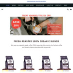 25% off All Coffee Blends + Free Express Shipping @ Airjo Coffee