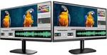 "2x AOC 24B2XH 23.8"" IPS 8ms 75hz Full HD Frameless Monitor $289 + Delivery @ PCByte"