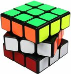 FC MXBB 3x3 PVC Sticker Smooth Speed Puzzle Magic Cube Black $8.25 + Delivery ($0 with Prime/ $39 Spend) @ FC MXBB via Amazon AU