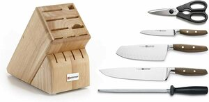 Wusthof Epicure 6-Piece Block Set $430.73+ $46.14 Delivery ($0 with Prime) @ Amazon US via AU