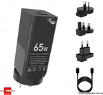 65W 2 Port GaN Charger with 3 Adapters & 100W PD Cable $35.90 Del @ Shopping Square