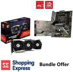 MSI Radeon RX 6900 XT GAMING Z TRIO 16GB & MSI MAG X570S TOMAHAWK MAX WIFI AM4 WiFi 6E ATX Motherboard $2499 @ Shopping Express